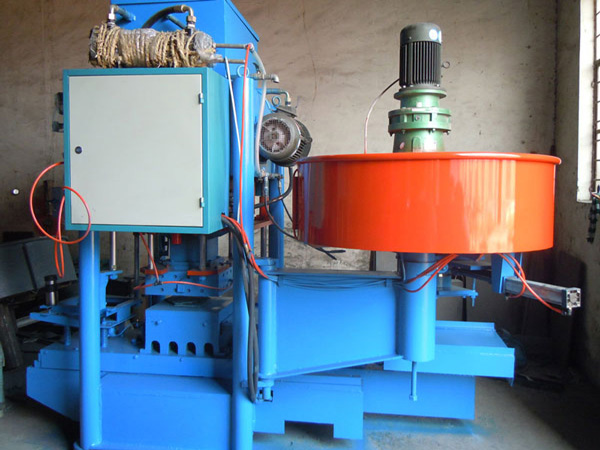 TR-125D Cement Roof Tile Molding Machine