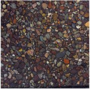 Tile of rain flower stones samp